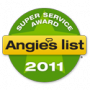 Angies List Superior Service Award 2011